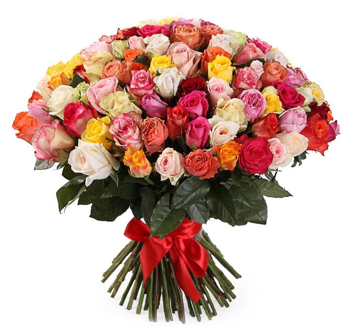 Ассорти 35 роз