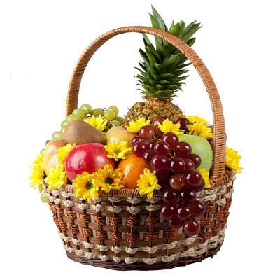 """Корзина с фруктами  """"Летняя"""""""