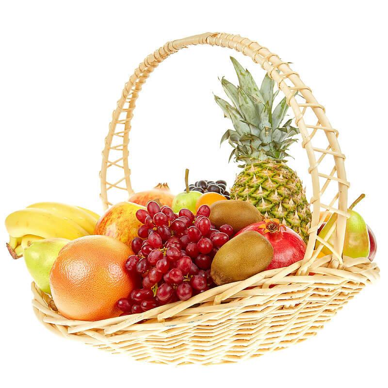 """Корзина с фруктами """"Райское наслаждение"""""""