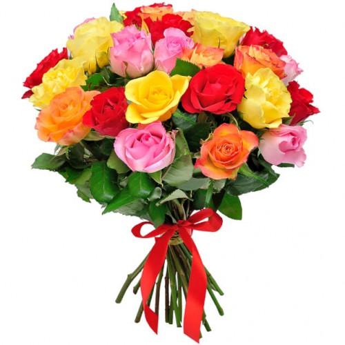 25 роз (микс)