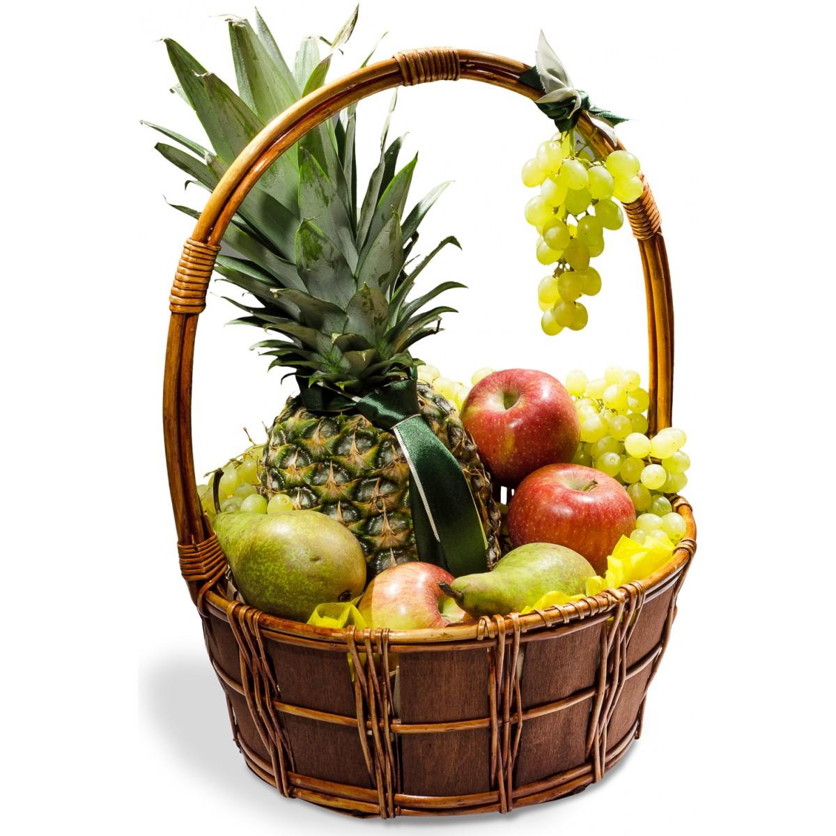 """Корзина с фруктами """"Торжество вкуса"""""""