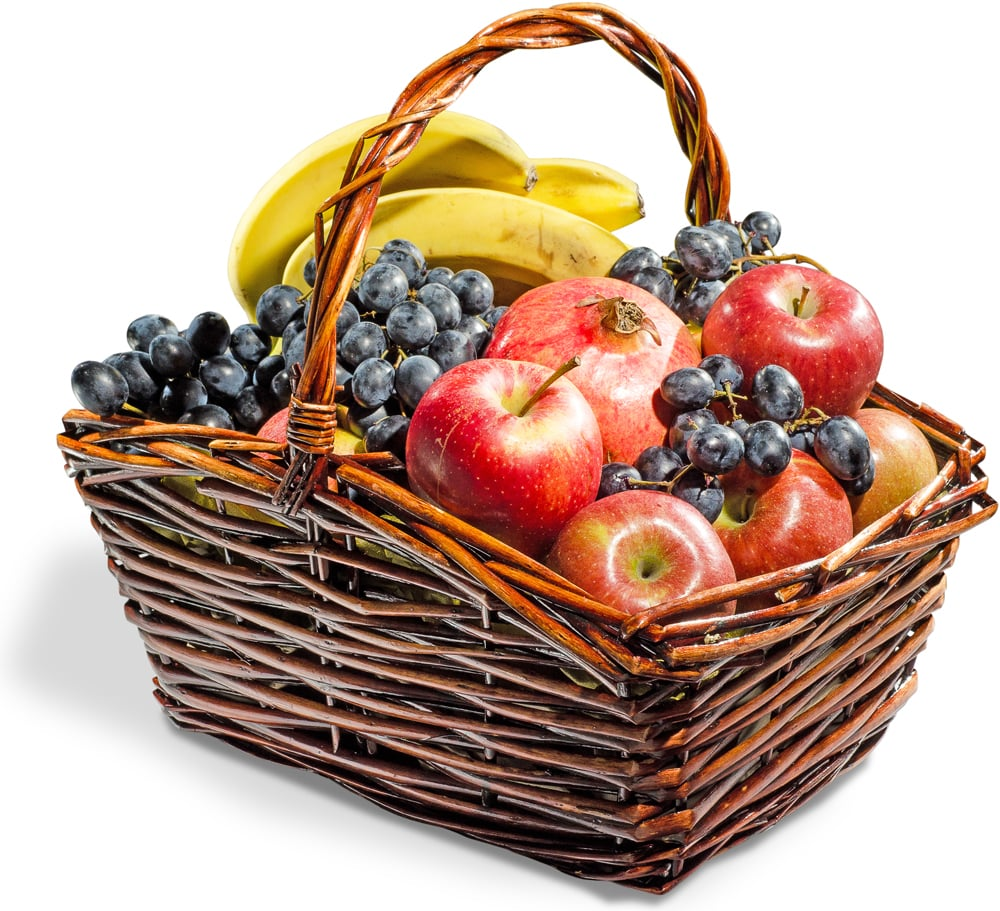 "Корзина с фруктами ""Заряд бодрости"""