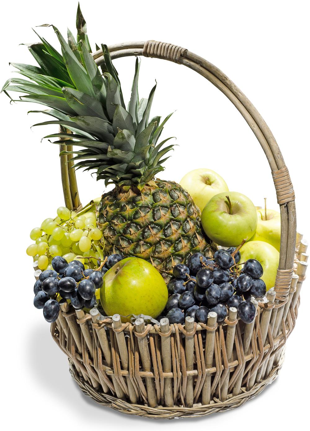 """Корзина с фруктами """"Сочный день"""""""